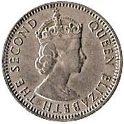 25 mils - Elizabeth II – avers