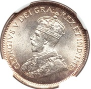 4½ piastres - George V – avers
