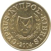 5 cents (type 2 armoiries) -  avers