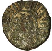 1 Kardez - Hetoum I (solid border; seated on bench type) – revers