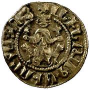 Cilician Armenian - King Levon I (1198 -1219) - Silver Tram – avers