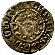 Cilician Armenian - King Levon I (1198 -1219) - Silver Tram – revers