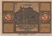 50 Pfennig (Coburg) – avers