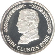 25 Rupees (John Clunies Ross) – avers