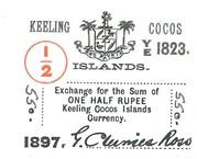 1/2 Rupee – avers