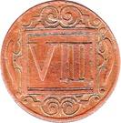 8 Pfennig – revers