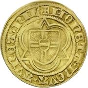 1 Goldgulden - Dietrich II. von Mörs (Riel) – revers
