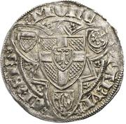 1 Weißpfennig - Friedrich III. von Saarwerden (Bonn) – revers
