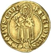 1 Goldgulden - Friedrich II. von Saarwerden – avers