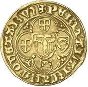 1 Goldgulden - Friedrich II. von Saarwerden – revers