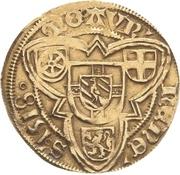 1 Goldgulden - Hermann V. von Wied – revers
