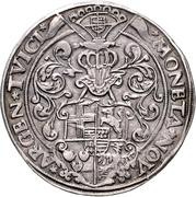1 Thaler - Johann Gebhard von Mansfeld – revers