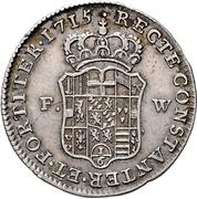 ⅙ thaler - Joseph Clemens von Bayern – revers