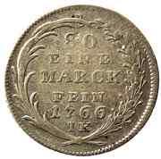 ⅛ thaler Maximilian Friedrich – revers