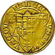 1 Goldgulden - Friedrich III. von Saarwerden (Bonn) – avers