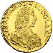 1 ducat Clemens August – avers