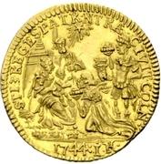 1 ducat Clemens August – revers