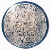 ⅙ thaler Joseph Clemens de Bavière – revers