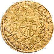 1 goldgulden Dietrich II. Graf von Moers – revers