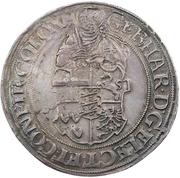 2½ thaler Gebhard Truchseß de Waldburg – avers