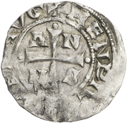 1 denar Anno II – avers