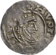 1 denar Pilgrim et l'empereur Konrad II – avers