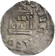 1 denar Pilgrim et l'empereur Konrad II – revers