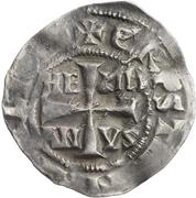 1 denar Hermann II – avers