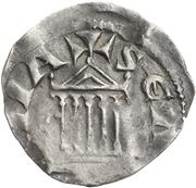 1 denar Hermann II – revers
