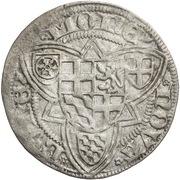 1 weißpfennig Ruprecht du Palatinat – revers
