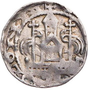 1 denar Heinrich I de Molenark – revers