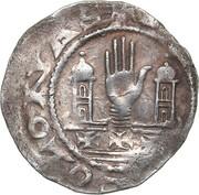 1 denar Hermann III – revers