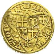 1 goldgulden Friedrich III de Saarwerden – revers