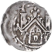 1 Denar - Siegfried von Westerburg -  revers