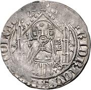 1 Weißpfennig - Friedrich III. von Saarwerden – avers