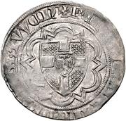1 Weißpfennig - Friedrich III. von Saarwerden – revers