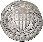 1 Weißpfennig - Friedrich III. von Saarwerden (Deutz.) – revers