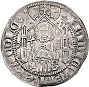 1 Weißpfennig - Friedrich III. von Saarwerden (Riel) – avers