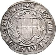 1 Weißpfennig - Friedrich III. von Saarwerden (Riel) – revers