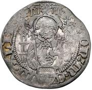 1 Weißpfennig - Dietrich II. von Mörs (Riel) – avers