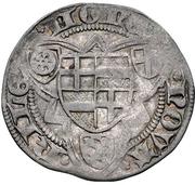 1 Weißpfennig - Dietrich II. von Mörs (Riel) – revers