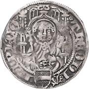 1 Weißpfennig - Dietrich II. von Mörs (Riehl) – avers