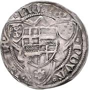 1 Weißpfennig - Dietrich II. von Mörs (Riehl) – revers