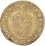 1 Postulatsgoldgulden - Dietrich II. von Moers (Deutz) – avers