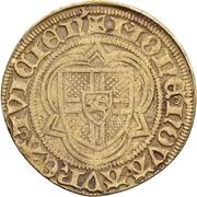 1 Postulatsgoldgulden - Dietrich II. von Moers (Deutz) – revers