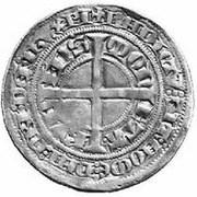 1 tournose groschen Walram von Jülich – revers