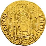 1 Goldgulden - Friedrich II. von Saarwerden (Deutz) – avers