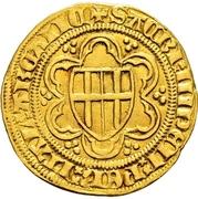 1 Goldgulden - Friedrich II. von Saarwerden (Deutz) – revers