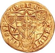 1 Goldgulden - Friedrich III. von Saarwerden (Bonn) – revers