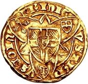 1 Goldgulden - Friedrich III von Saarwerden (Bonn) – revers
